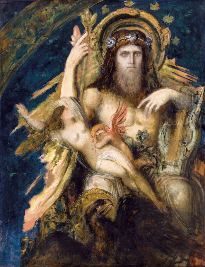 モローとルオー・聖なるものの継承と変容 ギュスターヴ・モロー《ユピテルとセメレ》ギュスターヴ・モ